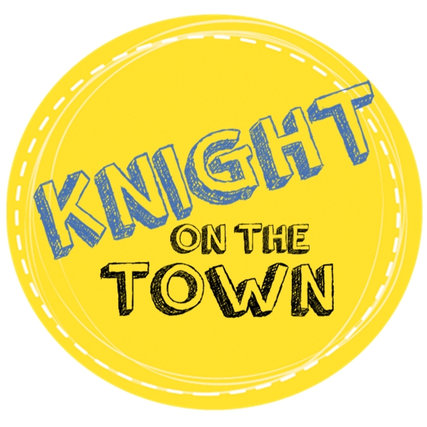 knight on the town graphic